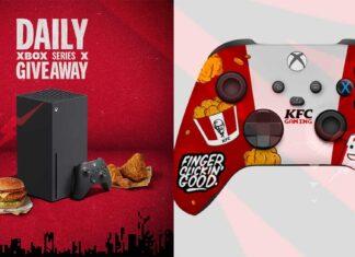 KFC skin controller Xbox Series X ed S