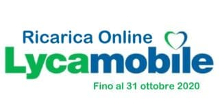 LycaMobile Ricarica Online