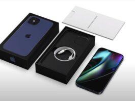 Samsung Galaxy S21 confezione vuota