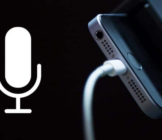 Usare iPhone come microfono