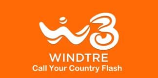 WindTre Call Your Country Flash