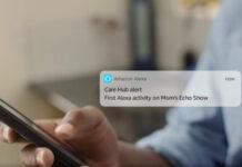 Alexa Care Hub assistenza da remoto