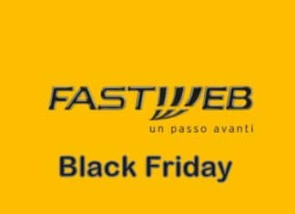 Fastweb Black Friday