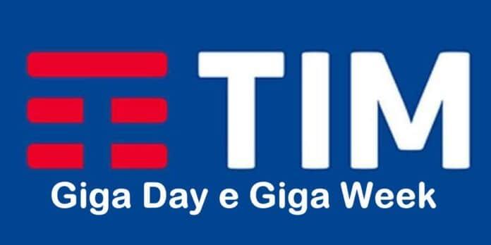 Giga Day e Giga Week di TIM