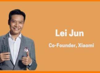 Lei Jun born scelta nome brand Xiaomi