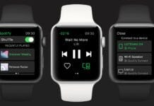 Spotify su Apple Watch offline e streaming