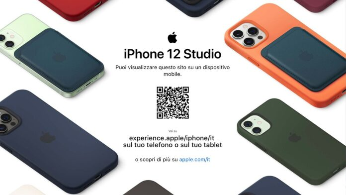 iPhone 12 Studio personalizzazione colori