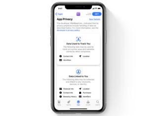 Apple etichette privacy applicazioni