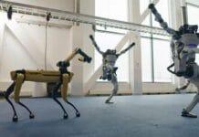 Boston Dynamics do you love me robot