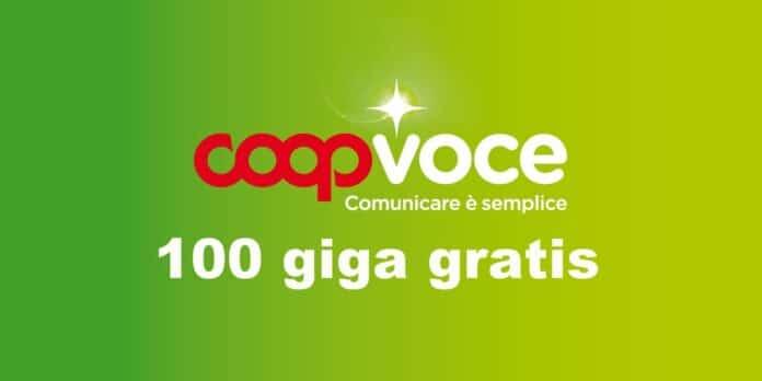 CoopVoce 100 giga gratis