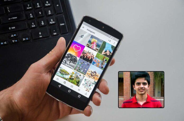 Saugat Pokharel bug dati Instagram