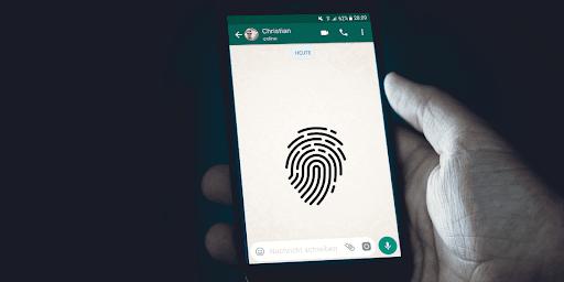 Accesso biometrico WhatsApp