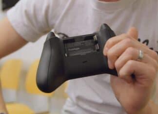 Controller Xbox pile AA
