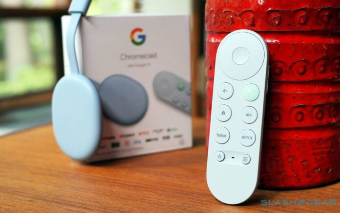 Google TV nuovo layout telecomando
