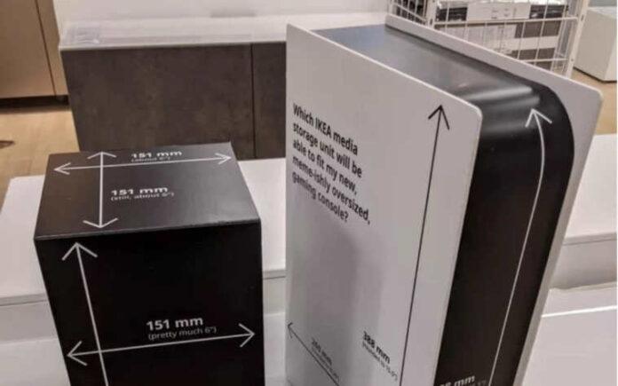 Ikea misure PlayStation 5
