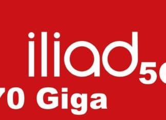 Iliad 5G Giga 70