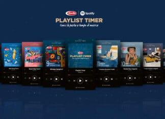 Playlist Timer di Barilla su Spotify