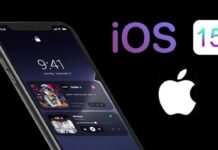 Supporto Apple iPhone con iOS 15
