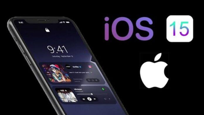 Supporto Apple iPhone con iOS 15