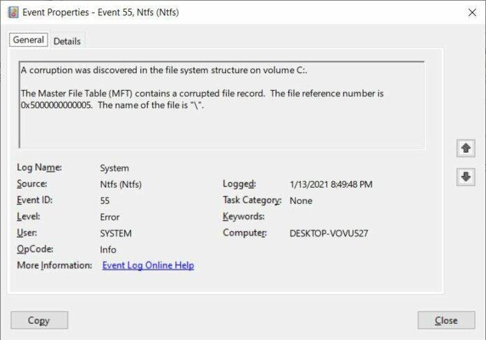 Windows 10 comando dannoso