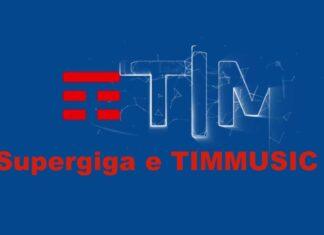 TIM Supergiga e TIMMUSIC