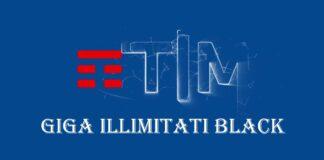 Tim Giga Illimitati Black