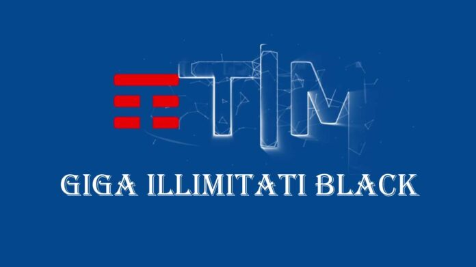 Tim Giga Illimitati Black