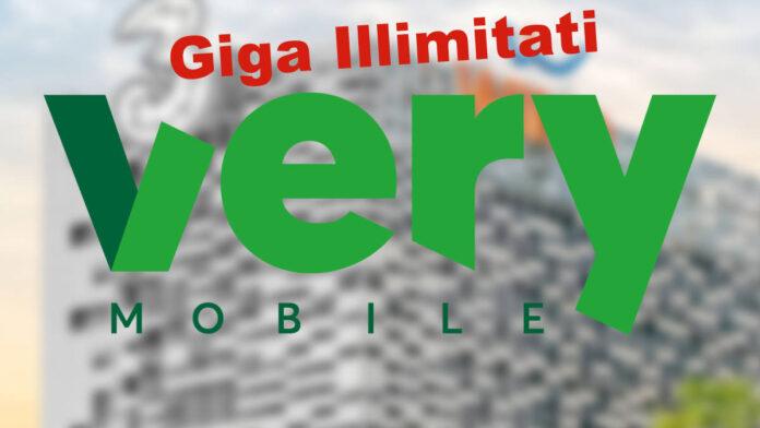 Very Mobile Giga Illimitati