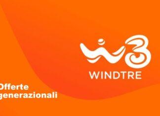 WindTre offerte generazionali