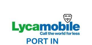 LycaMobile offerte PORT IN