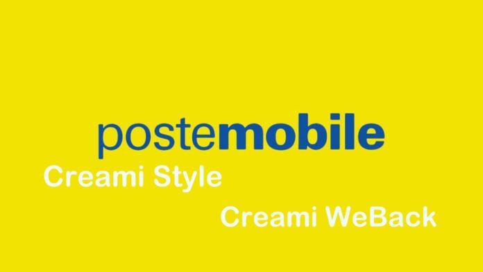 PosteMobile Creami Style e Creami WeBack
