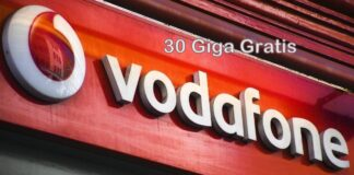 Vodafone 30 giga gratis