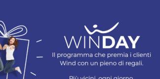 WindTre concorso Winday