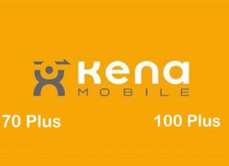 Kena Mobile 70 e 100 Plus