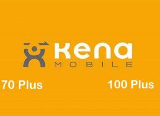 Kena Mobile 70 e 100 Plus