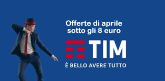 TIM offerte aprile